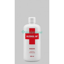 Interapothek Alcohol Heridine 500 Ml.