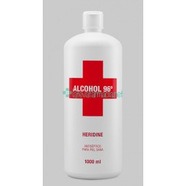 Interapothek Alcohol Heridine 1000 Ml.