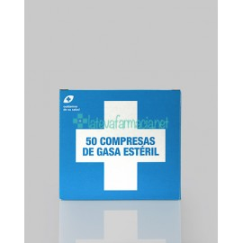 Interapothek Compresas Gasa Esteril C/50