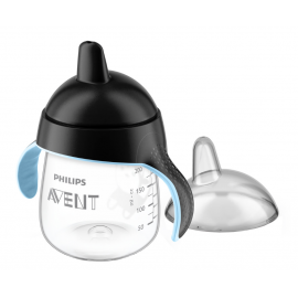 Avent Taza Magic antigoteo negra 260 ml 12+