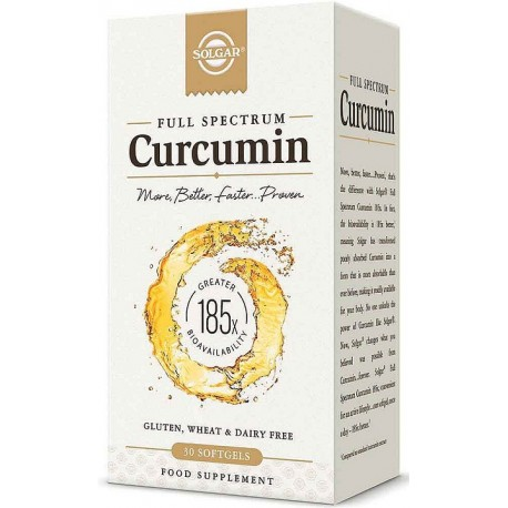 Solgar Full Sectrum Curcuma 30 softgels