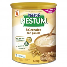 Nestle Nestum 8 Cereales con Galleta 600g