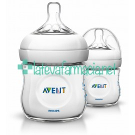 Avent Biberón Natural de 125ml - pack de 2 unid