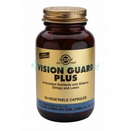 Solgar Vision Guard Plus. Cápsulas Vegetales. 60