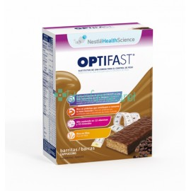 Optifast Barritas Capuchino 6UN