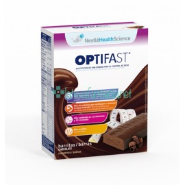 Optifast Barritas Chocolate 6UN