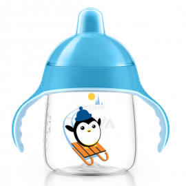 Avent Taza Magic antigoteo azul 260 ml 12+