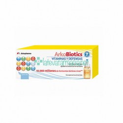 Arkobiotics Vitaminas y Defensas Adultos - Con 4 fermentos, 11 vitaminas