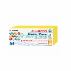 Arkobiotics Vitaminas y Defensas Niños - Con 4 fermentos, 11 vitaminas